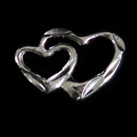Small Double Open Heart - RDL-33