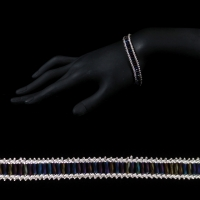 Peacock Railroad Bracelet